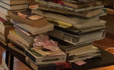 piles of books (2)
